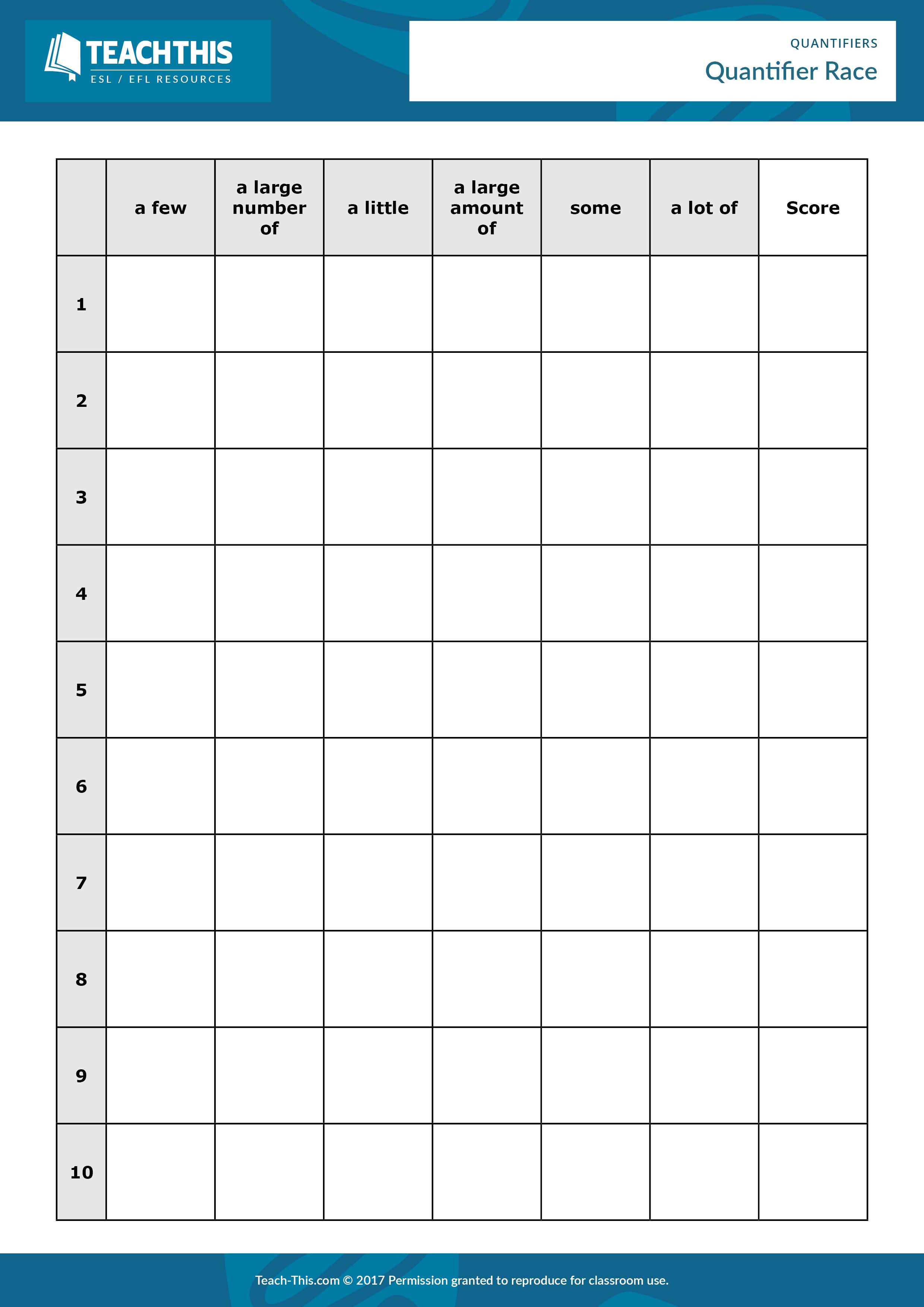 countable and uncountable pdf worksheet