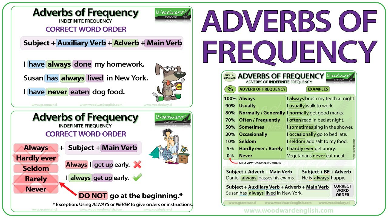 complete with the adverbs of frequency pdf